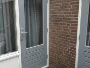 Plaatsen nieuwe deuren HR++ glas