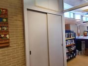 Realisatie wandkast voor basisschool - Folkertsma Klusbedrijf Friesland